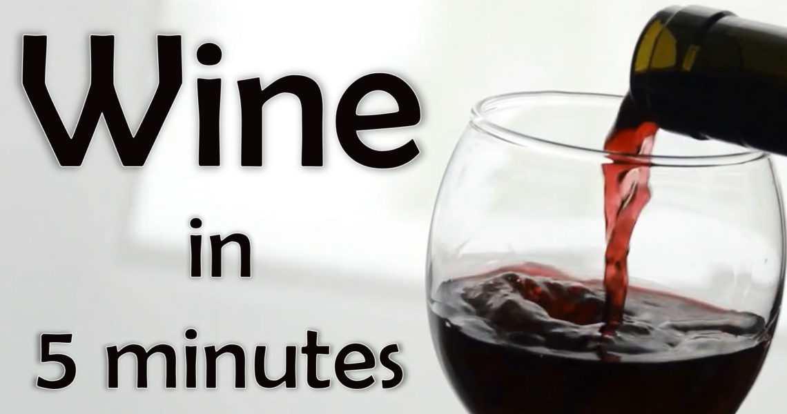 Learn About Wine in 5 Minutes